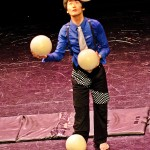 Image du spectacle de cirque/photo from circus performance